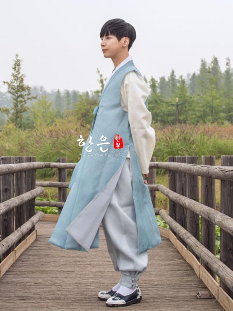 South Korea Imported Fabric / Men's Hanbok / Men's Rich Family Hanbok / Wedding High-end Hanbok