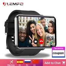 LEMFO LEMT 2.86 pouces 4G montre intelligente Android 7.1 3GB 32GB Bluebooth Smartwatch 5MP caméra 2700mAh 480*640 résolution GPS WiFi