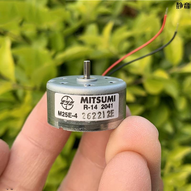 DC 1.5V 3V 5V 6V 5500RPM Mini 300 Solar Power Motor Long shaft Round Toy Motor