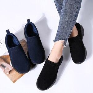 Image 5 - STQ jesień kobiety mieszkania buty damskie Slip on kobieta mokasyny oksfordzie buty do chodzenia Tenis Feminino mieszkania Sneakers buty 0731