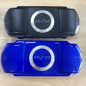 Image 1 - 10 colores cobertura completa Funda carcasa para Sony PSP1000 con botón caja de cubierta protectora cubierta para PSP 1000