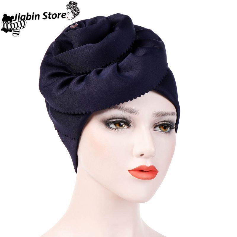 Muslim Hijab Caps Winter Hats For Women Hat Women Winter Cap Beanies For Ladies Turban Hijab Woman Hats Winter Accessories