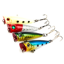 5g 5cm Popper 4 color bionic lure bait sea fishing hard water surface weever Topmouth culter