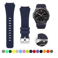 La cinghia Per Samsung galaxy orologio 3 46 millimetri Gear S3 Frontier amazfit bip/attivo braccialetto di 20/22 millimetri watch band Huawei orologio gt 2/2e 42 millimetri