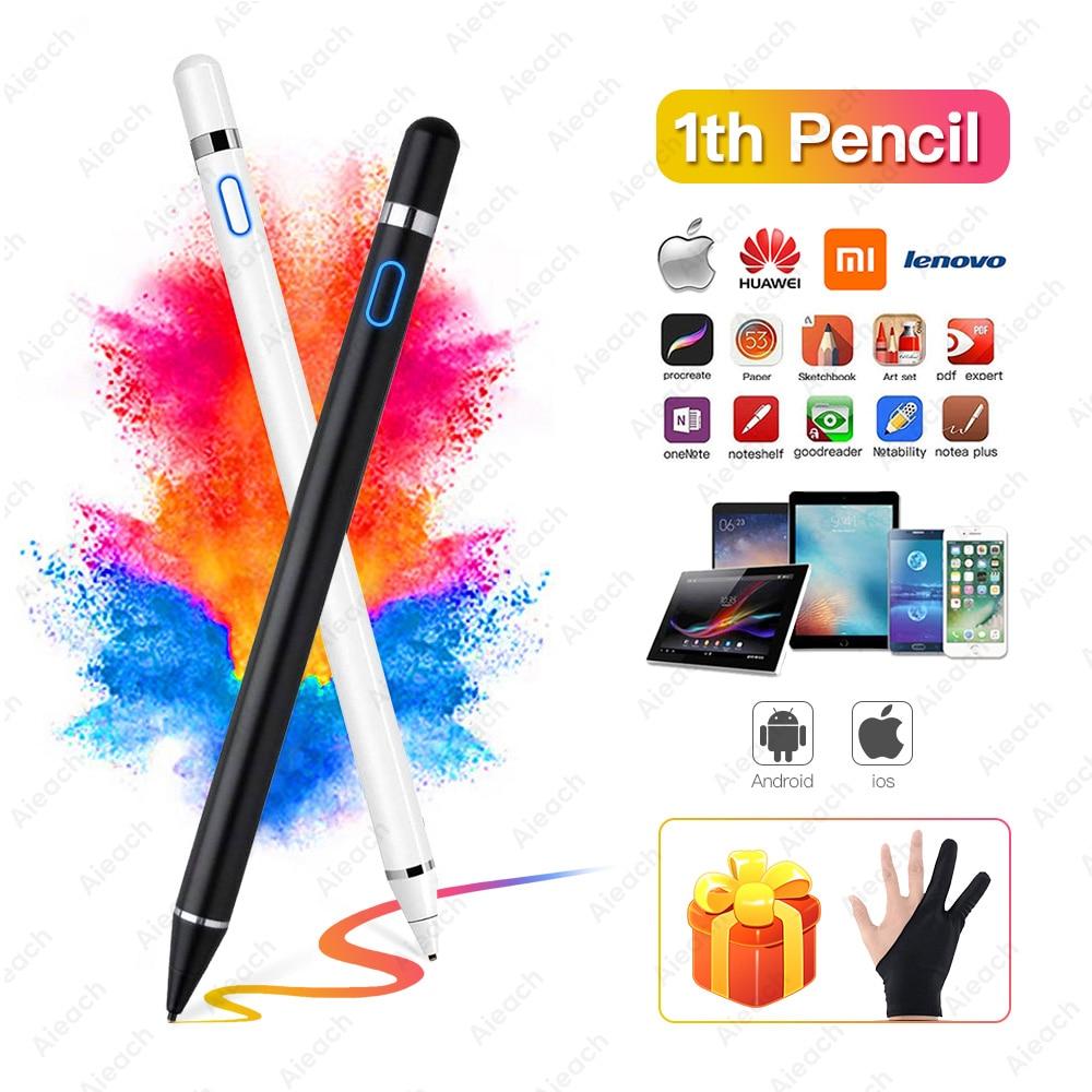 Для aррle iрad рro 11 12,9 10,5 9,7 2017 2018 активный стилус для сенсорного экрана, Смарт постоянной ёмкости, универсальный конденсатор карандаш для iPad mini