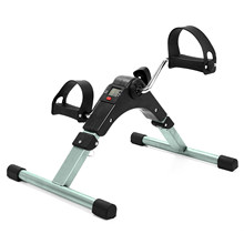 Faltbare Fitness Fahrrad Haushalt Mini Heimtrainer Körper Gym Maschine mit Anti-slip Pedal Hand Bein Rehabilitation LCD Display(China)