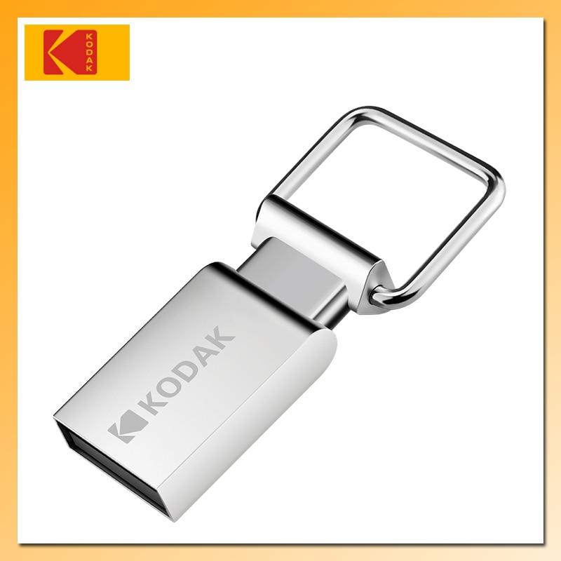 Супер мини металлический USB флеш-накопитель KODAK K112, 64 ГБ, 32 ГБ, 16 ГБ, USB 2,0, флеш-диск, карта памяти, флеш-накопитель, Автомобильный ключ