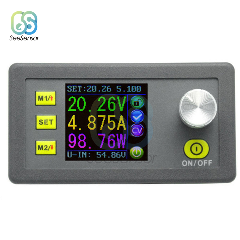 DPS5005 Constant Voltage Current DC-DC Step-down Communication Power Supply Buck Module Voltage Converter LCD Voltmeter