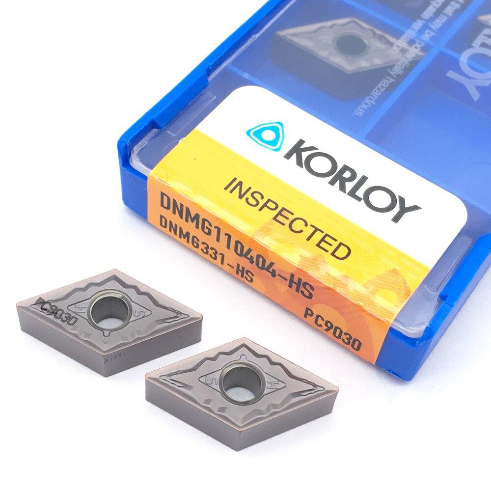 100% Original 10PCS DNMG110404 HS PC9030 Hard Metal Turning Tool CarbideInserts AccesoriosDeTorneria Lathe Stainless Steel