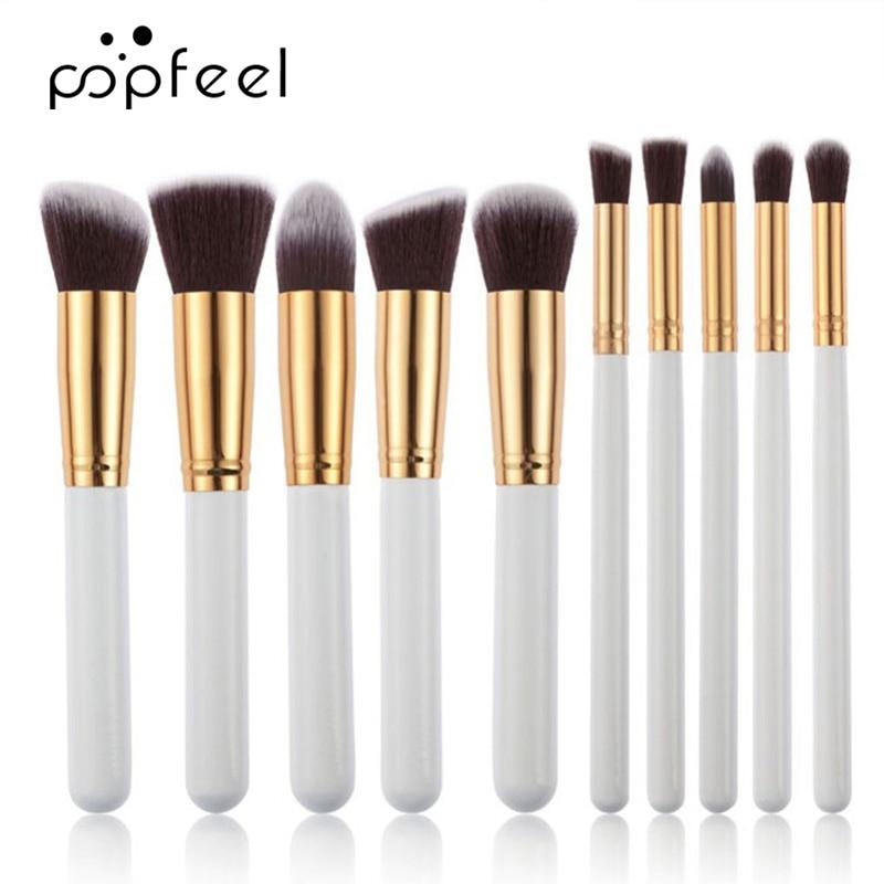 POPFEEL Makeup Brush Set Eye Brush & Face Foundation Brush