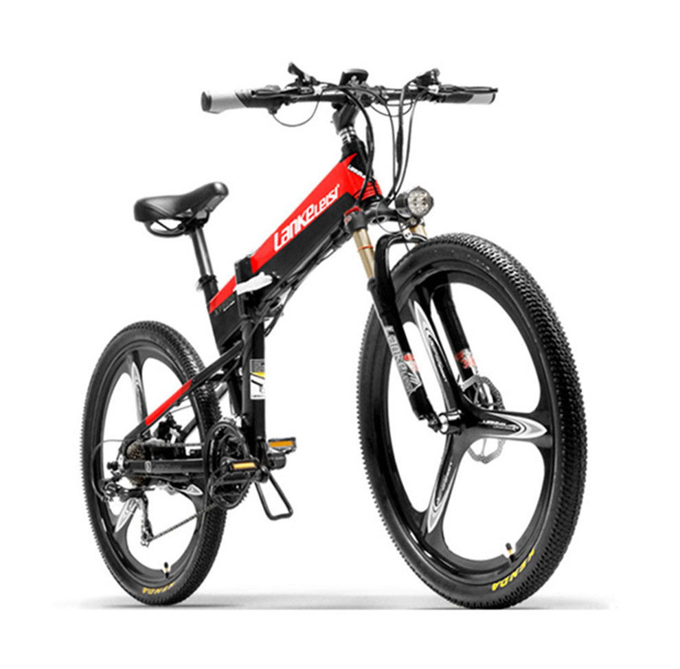 Electric Bicycle 48V 400W Two Wheels Electric Bicycle Mountain Ebike With Hydraulic Brake System Powerful Electric Scooter