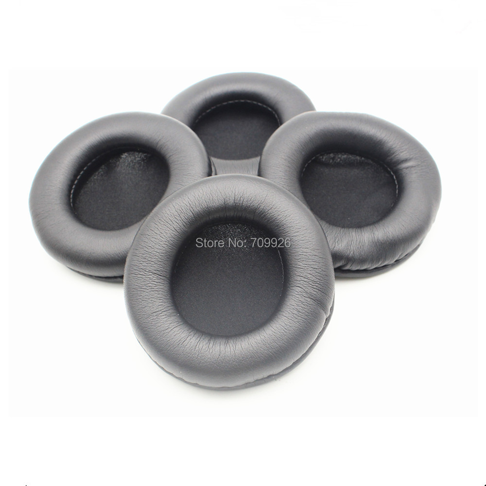90mm Leatherette Ear Cushions /replacement headset ear pads cushions free shipping by mail