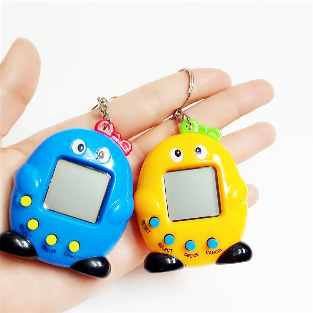 Intelligence Developmental Electronic Game Machine Virtual Pet Penguin Shaped Video Game Console For Kids Random Color Delivery