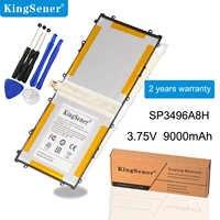 KingSener 3.75V 9000mAh SP3496A8H bateria do Samsunga Google Nexus 10 GT-P8110 HA32ARB P8110 Tablet baterie + darmowe narzędzia
