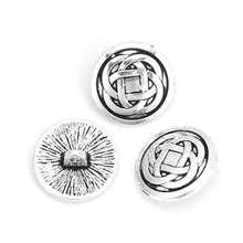 Doreenbeads металлические пуговицы из цинкового сплава для одежды