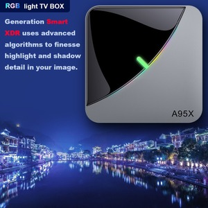 Image 5 - A95XF3 Air Rgb Licht Tv Box Android 9.0 4Gb 64Gb Amlogic S905X3 Doos 8K Hd 2.4/5G Wifi Media Server Android Tv Box