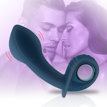 Inflatable Anal Plug Vibrator Prostate Massager Silicone Sex Toys for Men 10 Mod
