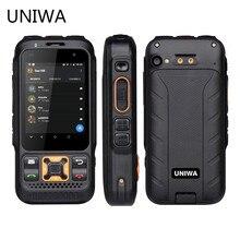 UNIWA F30S Dual Versione Zello Walkie Talkie Per Smartphone FDD LTE 4G GPS 1GB + 8GB Android 8.1 Quad core Dual Macchina Fotografica Del Telefono Mobile