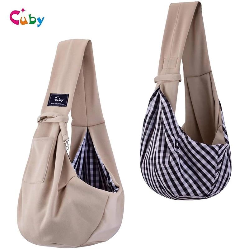 Кота транспортер сумка для переноски кошка рюкзак для переноски небольшой рюкзак ПЭТ Регулируемый ремнем, мягкое покрытие pet слинг перенос...