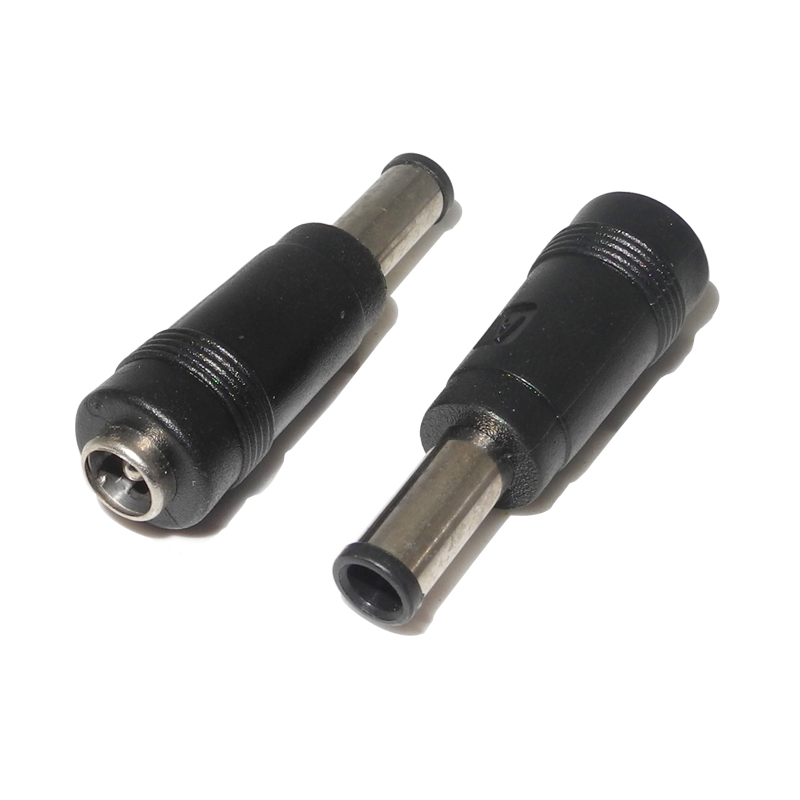 5.5*2.1mm Female To 6.0*4.4mm Male DC Power Adapter Plug Connector Dc Jack Tip 5.5x2.1 To 6.0x4.4 For Sony Vaio Laptop