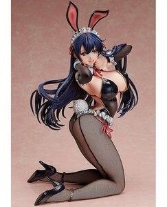 Image 1 - 1 pçs anime japonês ligação opinião do criador nativo ayaka sawara capa sexy coelho meninas 1/4 pvc figura de ação modelo brinquedos boneca