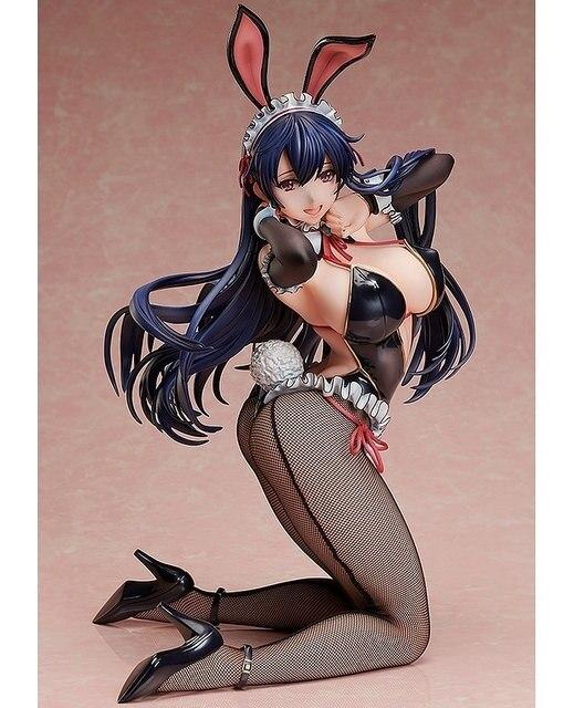 1pcs Japanese Anime BINDing Creators Opinion native Ayaka Sawara Cover Sexy Bunny Girls 1/4 PVC action figure model toys doll