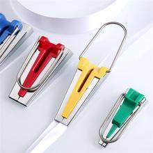 1 компл., устройство для создания косовой ленты, инструмент для стегания, легкие Швейные аксессуары для шитья, домашняя склеивание