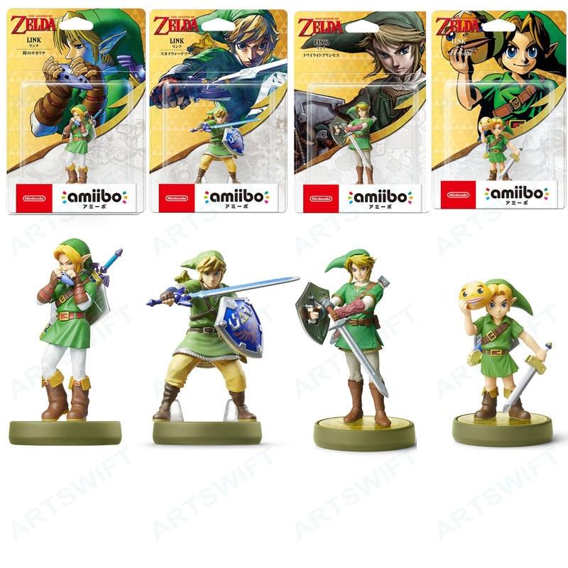 Фигурка Nintendo Amiibo Zelda, сумерки, принцесса, мультяшный волк из 20 сердец, волк, окарина времени, дыхание дикой природы