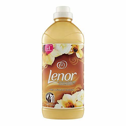 Lenor Fabric Softener Concentrate Gold & Vanilla 42mirusini–1050ml