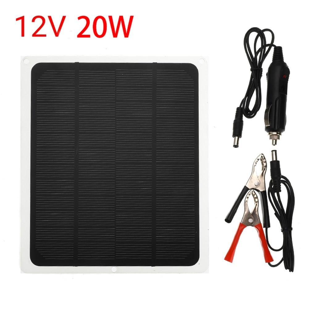 Купить 20 вт солнечное автомобильное зарядное устройство высокого преобразования