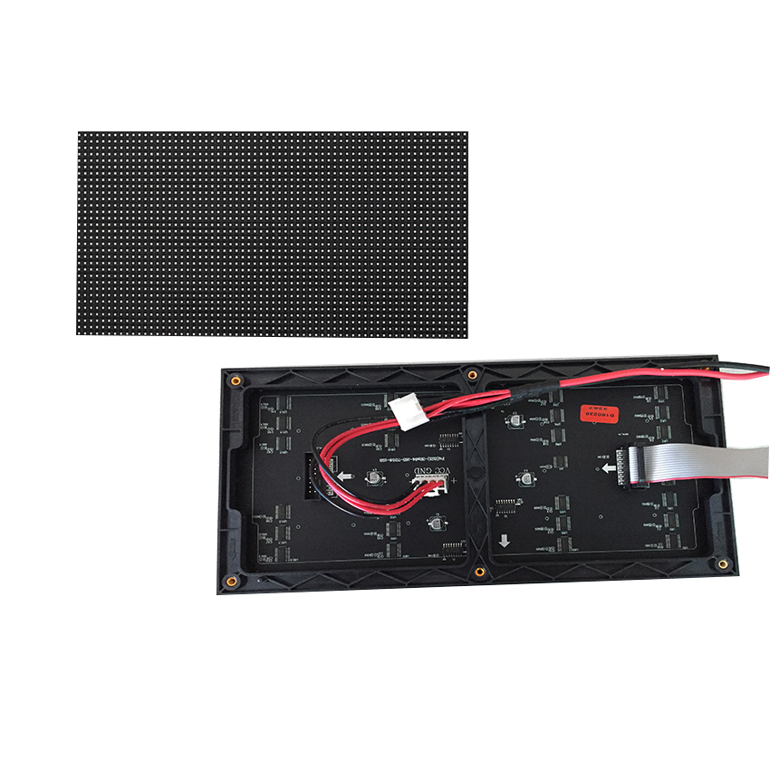 Image 4 - 64x32 LED sign RGB P4 led module video wall P2.5 P3 P4 P5 P6 P8 P10 256x128mm indoor screen full color displayLED Displays   -