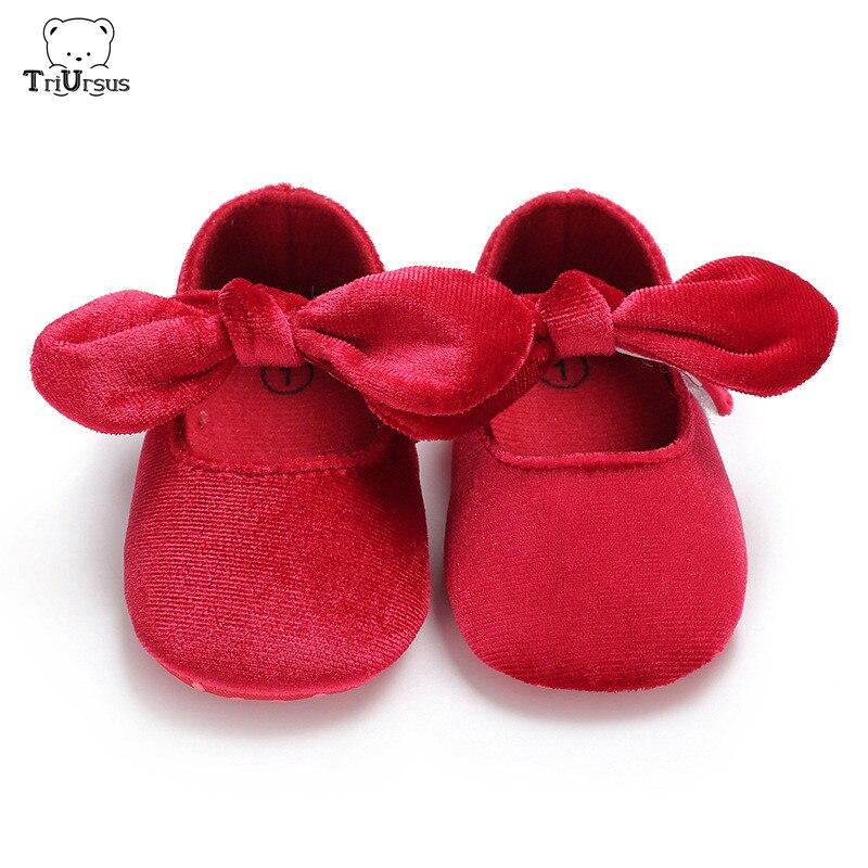 Newborn Baby Girl Princess Shoes First