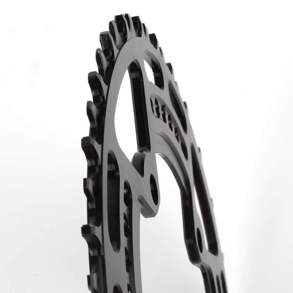 알루미늄 자전거 좁은 와이드 체인 링 104 BCD 크랭크 셋 단일 체인 링 자전거 라운드 체인 링 44 T/46 T/48 T/50 T/52 T
