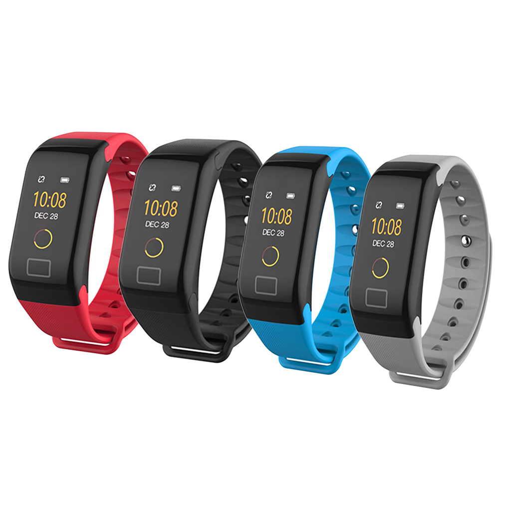Smart Bracelet Color Touch Screen Blood Pressure Fitness Tracker Heart Rate Monitor Smart Band Sport Watch for Android IOS