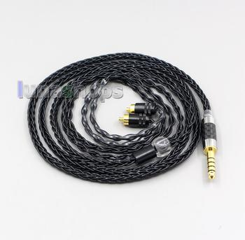 LN006471  2.5mm 3.5mm XLR Balanced 8 Core OCC Silver Mixed Headphone Cable For Sony IER-M7 IER-M9 IER-Z1R