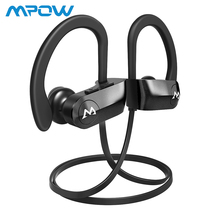 Mpow D7 Bluetooth Headphones IPX7 Waterproof Sport Earphones HD Stereo Sound Earbuds With Mic For iPhone XS/X/8/7/6 With Case 220v household fruit and vegetable disinfection machine automatic ozone washing machine decomposition pesticide sterilization