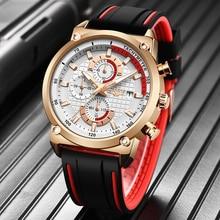 Relogio Masculino LIGE Mens Watches Top Brand Luxury Military Sport Watch Men Ru