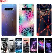 For Samsung S10 Note 10 Plus S10e Case Soft Silicone TPU Phone Cases Cover For Samsung S10 plus Case Coque S 10 Fundas Capas