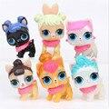 Лидер продаж, экшн-фигурка lol surprise, модель из ПВХ, куклы lol, Набор детских игрушек, подарки на день рождения, 6/8/12 шт.