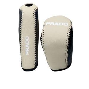 Image 5 - אמיתי עור Gear Shift Knob יד בלם עבור טויוטה לנד קרוזר פראדו 150 2010 2012 2013 2014 2015 2016 2017 2018 2019 2020
