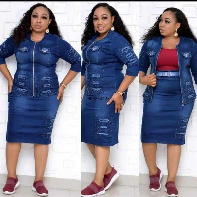 Nouvelle Annonce Robes Africaines Ensemble Pour Femmes Dashiki 2020 Vetement Femme Ankara Grande Taille Veste Et Jupe 2 Pieces Vetement Africain Aliexpress