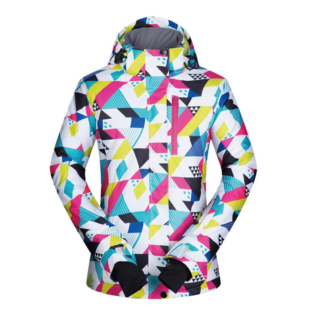 Men's Winter Ski Wear Waterproof Windproof 3D Surround Temperature Lock Padding Jacket 2020