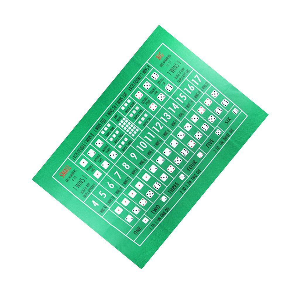 90x60 см TX холдем скатерть фланелевая 21 точка игральные кости Настольный коврик для казино семейвечерние Покер игры развлекательные игрушки настольные игры-2