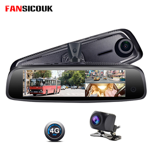 4G 3 Channel Car DVR 2G RAM Dash Camera