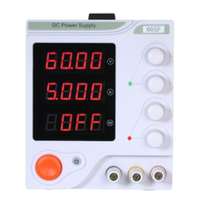 цена на 605F 0-60V 0-5A 10V-220V Mini Digital display LED Switching Power Supply  Adjustable DC Power Supply For Laboratory