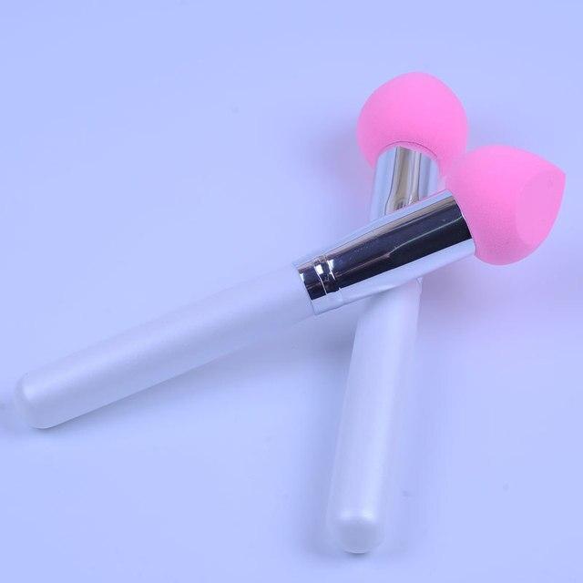 Allurement kou Non-Latex Sponge Head Liquid Foundation Makeup Brush Cream Brush Facial Beauty Makeup Tool Electricity Supplier S 2