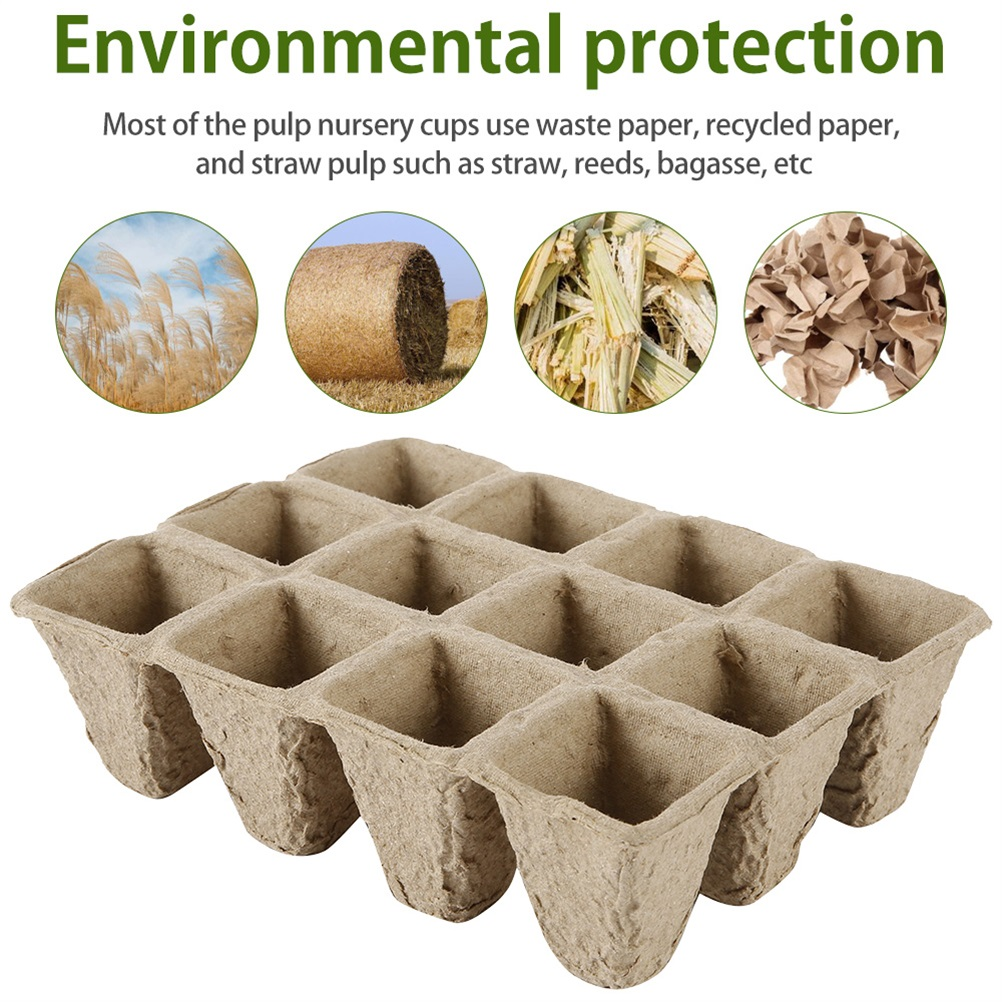 Biodegradable Growing Nursery Cup Kit Garden Accessories » Planet Green Eco-Friendly Shop