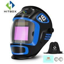 Шлем сварочный hitbox с защитой от ультрафиолетовых инфракрасных