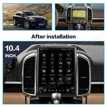 Android 9.0 tela de tesla para porsche cayenne 2011 2016 unidade principal de navegação gps do carro multimídia player gravador de rádio estéreo automático