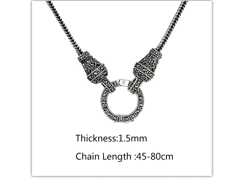 Hf61b9a24cb3a4508abfb53a7d6d6ea96v - V.YA Thai Silver Long Chain Necklace for Women 925 Sterling Silver Marcasite Stone Pendant Necklaces 1.5mm 60cm 70cm 75cm 80cm